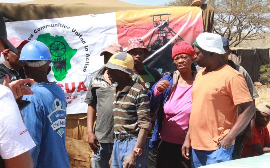Memorandum Of Kimberly Artisinal Mine Workers Zama Zamas
