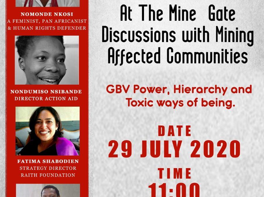 Webinar 2: At the Mine Gates: Discussions with Mining Affected Communities