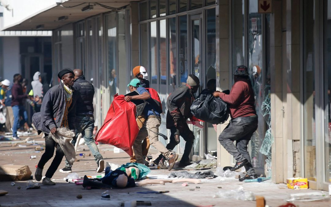 [Public Plea] Call on our members and communities to resist the temptation to join the looting and criminality which has been unleashed on the country